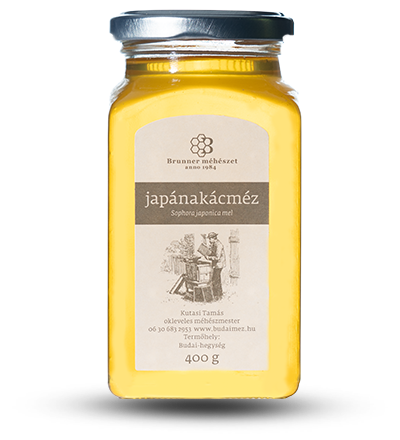 japánakácméz brunner méhészet