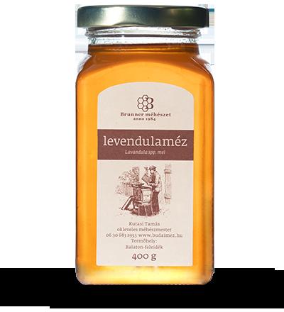 levendulaméz brunner méhészet
